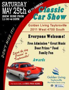 Golden Living Classic Car Show